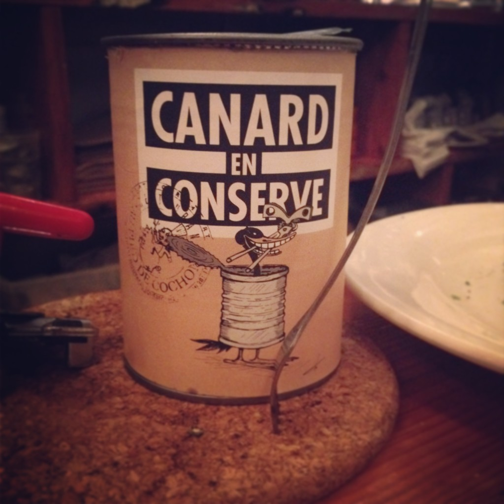 duck in a can