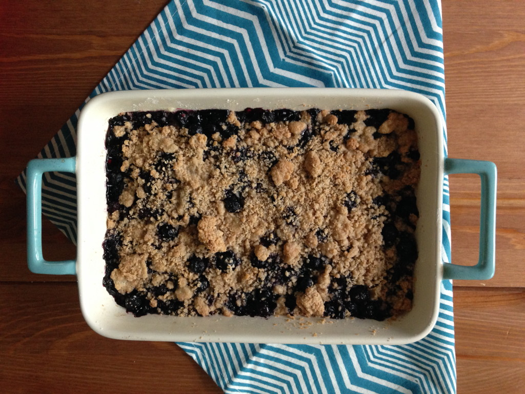 Blueberry Crumb Bar 5