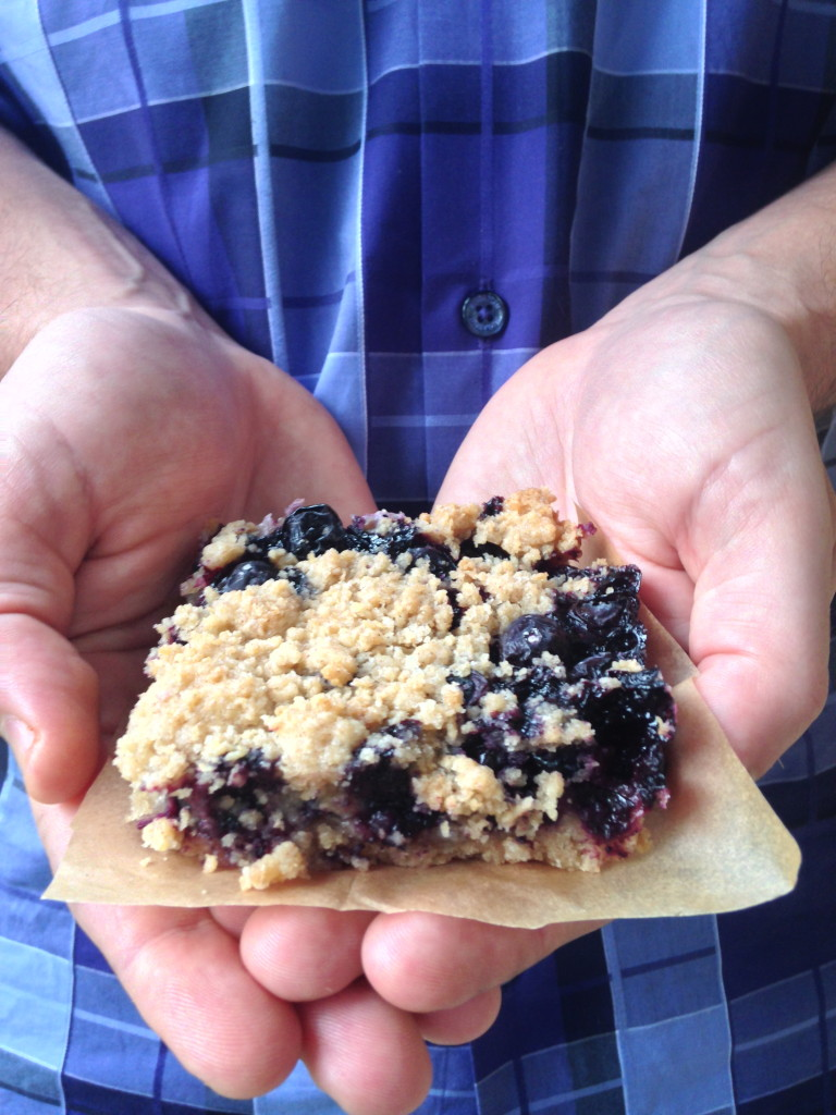 Blueberry Crumb Bar 4