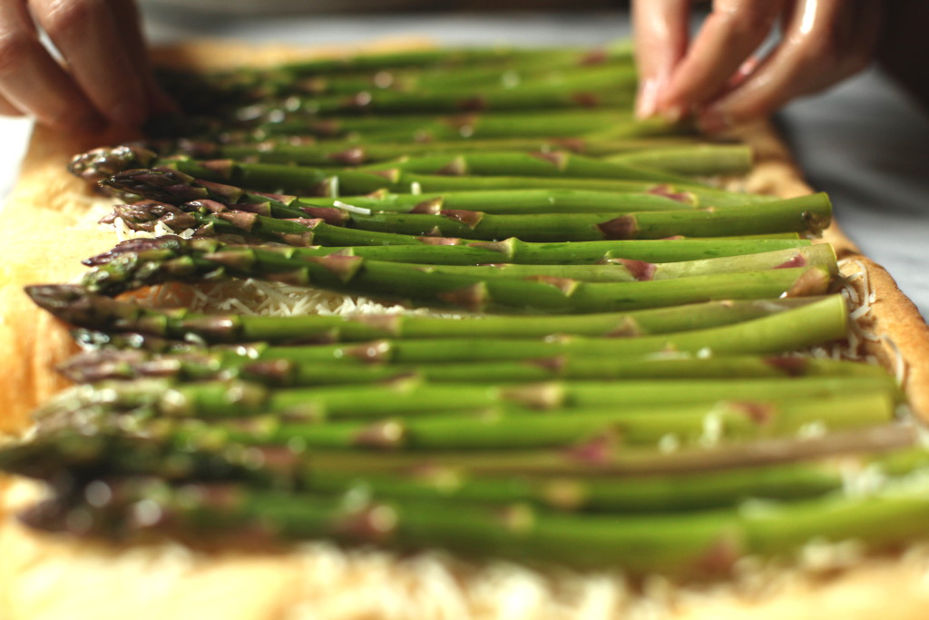 Asparagus Tart 8:The Foodie Chef