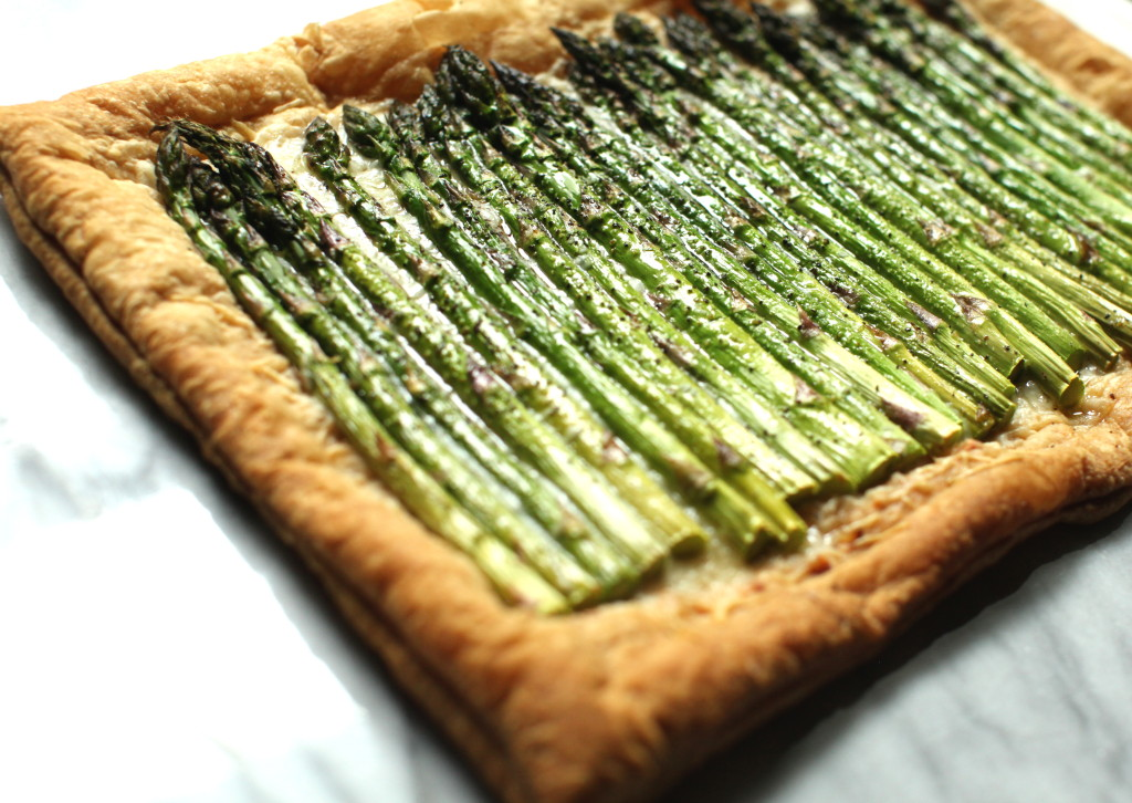 Asparagus Tart 5:The Foodie Chef