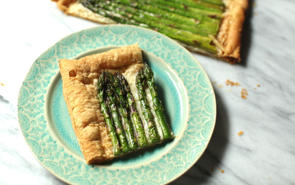 Asparagus Tart 3:The Foodie Chef