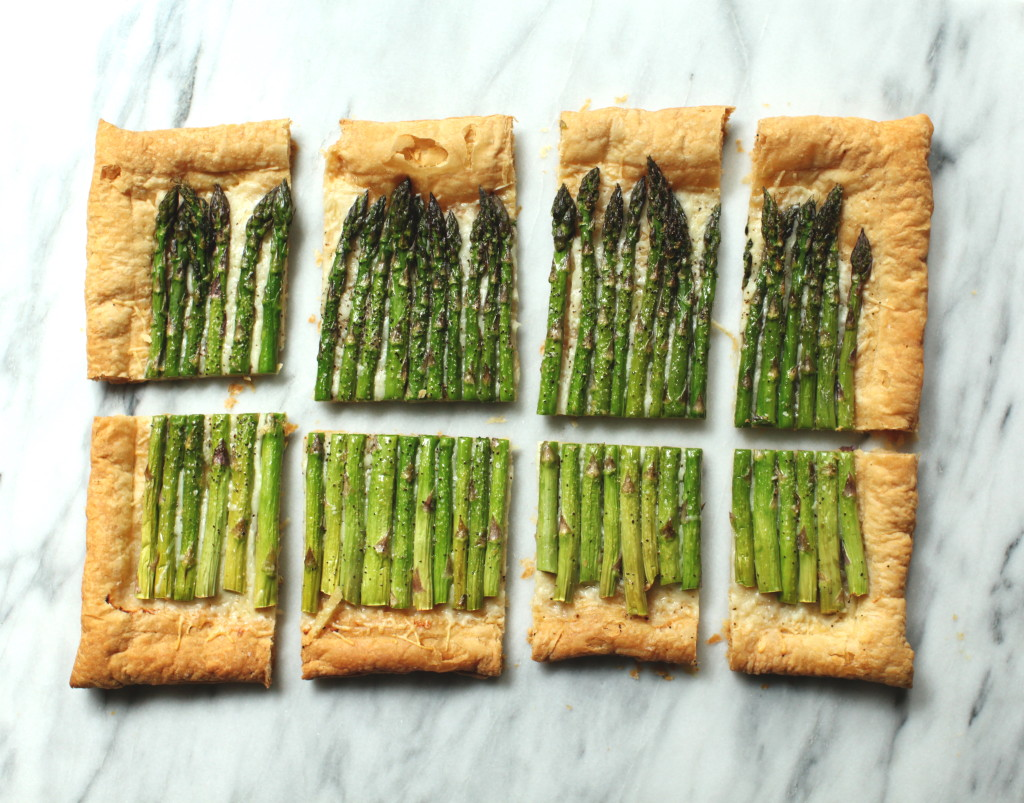 Asparagus Tart 2:The Foodie Chef