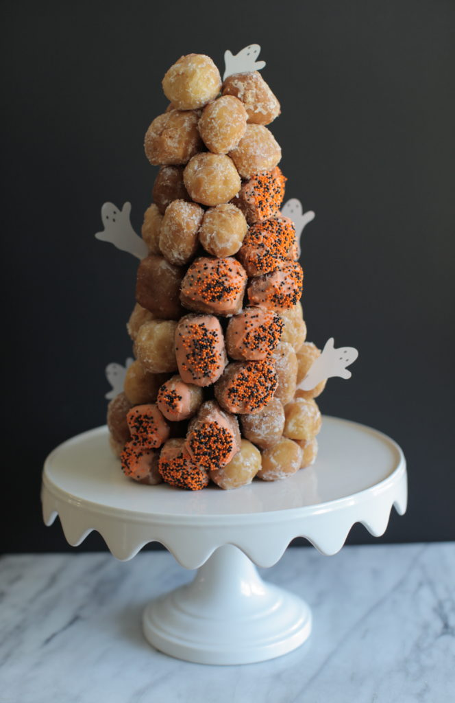 Easy Donut Croquembouche The Foodie Chef