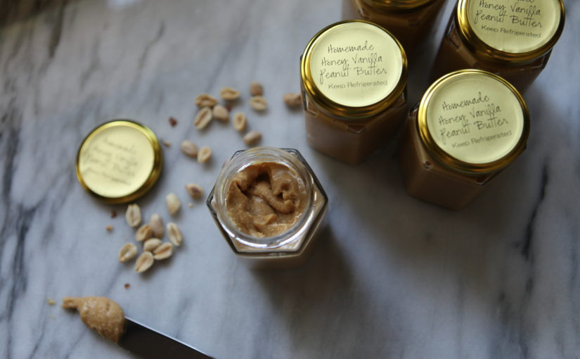 Vanilla Honey Peanut Butter